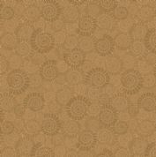 Lewis & Irene - Kimmeridge Bay - 6221 - Ammonites in Brown - A304.3 - Cotton Fabric